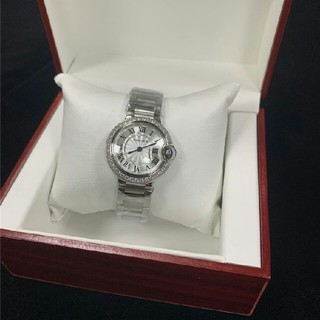 i - 即購入OK CARTIER 新品 時計 レディース 28mm W4BB0016