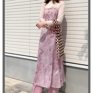 スライ(SLY)のSLY TIE-DYE SLIP ドレス(ロングワンピース/マキシワンピース)