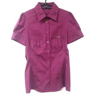 グッチ(Gucci)のグッチ 半袖シャツブラウス サイズ40 M -(シャツ/ブラウス(半袖/袖なし))