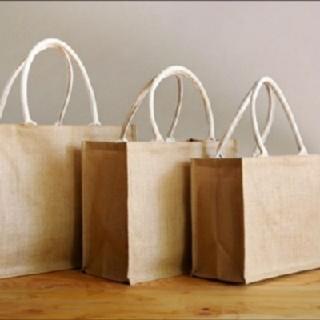 MUJI (無印良品) - 無印良品のジュートバッグ