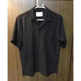 STUDIOUS - PUBLIC TOKYO オープンカラーシャツ