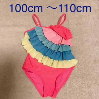 H&M - レインボー水着 女の子 100cm 110cm