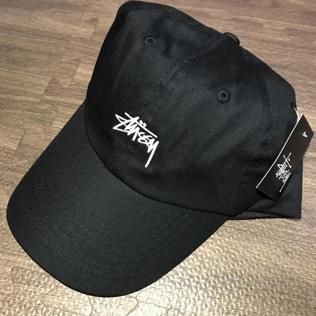 STUSSY(ステューシー)のStussyステューシー キャップ黒 メンズの帽子(キャップ)の商品写真
