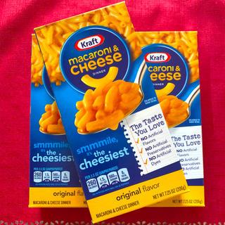 コストコ(コストコ)のマカロニチーズ 3箱(インスタント食品)