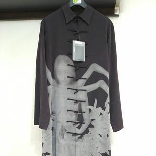 Yohji Yamamoto - yohjiyamamoto 20ss内田すずめ阿修羅チャイナドレスシャツ