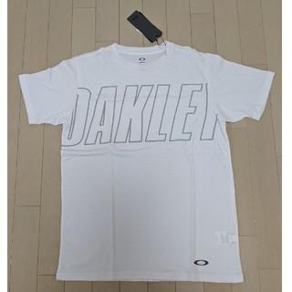オークリー(Oakley)の新品未使用OAKLEYメンズ T シャツホワイト M サイズ(Tシャツ/カットソー(半袖/袖なし))