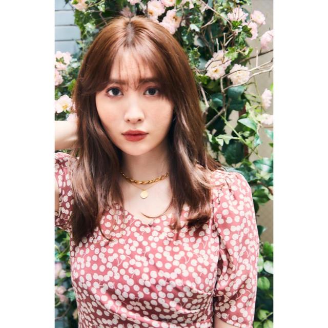 snidel(スナイデル)のHer lip to♡新色Cherry Pattern One-Piece レディースのワンピース(ロングワンピース/マキシワンピース)の商品写真