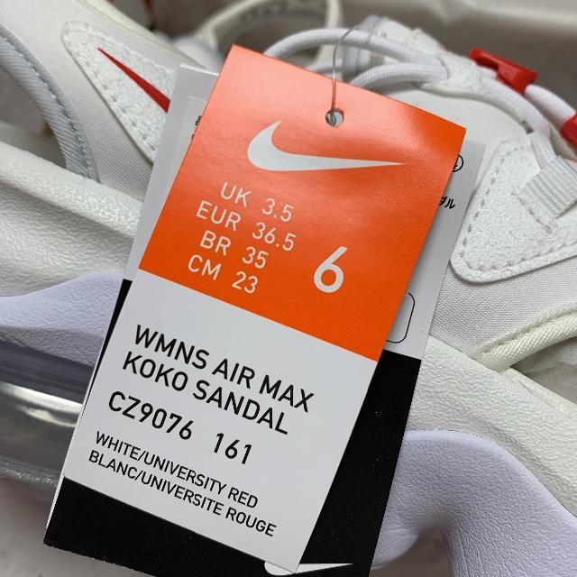 NIKE(ナイキ)の白23cm ナイキ エアマックス ココサンダル KOKO SANDAL 3 レディースの靴/シューズ(サンダル)の商品写真