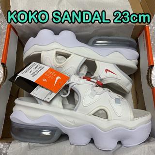 NIKE - 白23cm ナイキ エアマックス ココサンダル KOKO SANDAL 3
