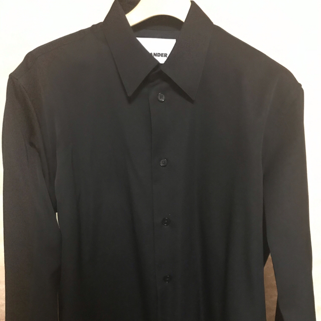 Jil Sander(ジルサンダー)の19aw  ジルサンダー jil sander  ウールシャツ  メンズのトップス(シャツ)の商品写真