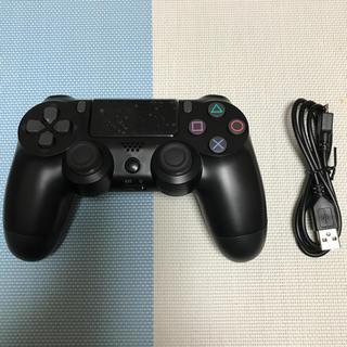 【新品】プレステ4 コントローラー 互換品 ブラック(その他)
