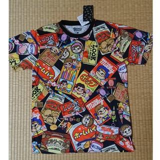ペコちゃん お菓子柄 Tシャツ Mサイズ チュニック ユニセックス