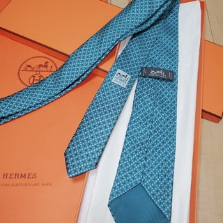 Hermes - エルメスネクタイHERMES男性用 箱つき