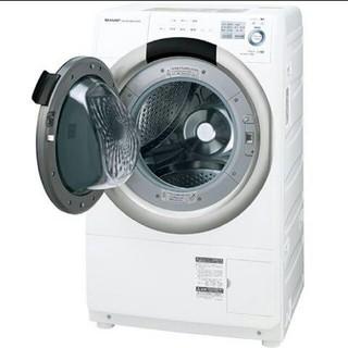 日立 - プチドラム ドラム式洗濯機 シャープ マンションサイズ ワンルームでも置ける
