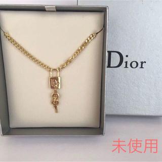 Christian Dior - 未使用 クリスチャン ディオール 南京錠ネックレス /ゴルード
