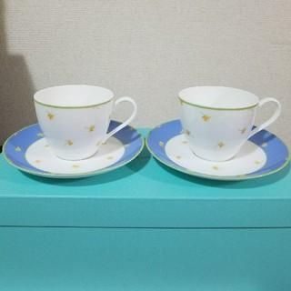 ティファニー(Tiffany & Co.)の【新品】ティファニー Tiffany カップ&ソーサー バレー ティーカップ(グラス/カップ)