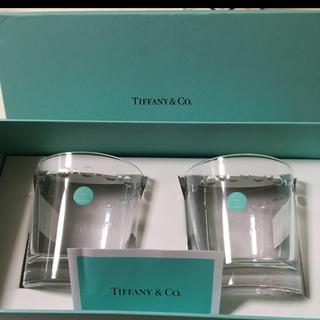 Tiffany & Co. - TIFFANY スウィングOF ペアロックグラス