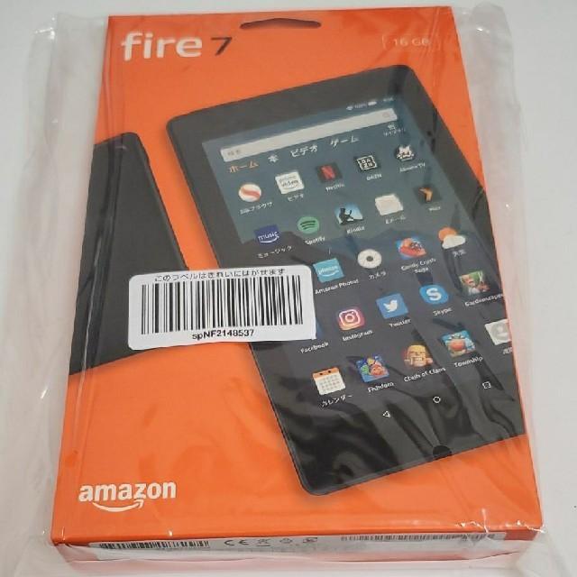 ANDROID(アンドロイド)のAmazon アマゾン fire 7 16GB タブレット スマホ/家電/カメラのPC/タブレット(タブレット)の商品写真