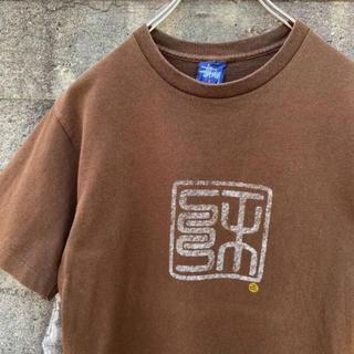 STUSSY - 90s USA製 old stussy Tシャツ 古着 ブラウン ユニセックス