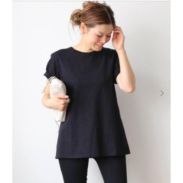DEUXIEME CLASSE(ドゥーズィエムクラス)のDeuxieme Classe CALUX キャラクス A LINE Tシャツ レディースのトップス(Tシャツ(半袖/袖なし))の商品写真