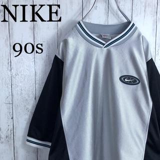 NIKE - 【激レア】 ナイキ 90s 銀タグ 刺繍ロゴ ゲームシャツ ユニフォーム