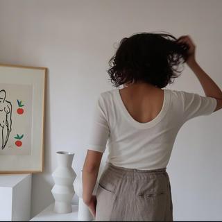 DEUXIEME CLASSE - argue リブTシャツ 新品未使用