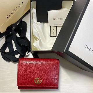 Gucci - GUCCI ミニ財布 三つ折り財布