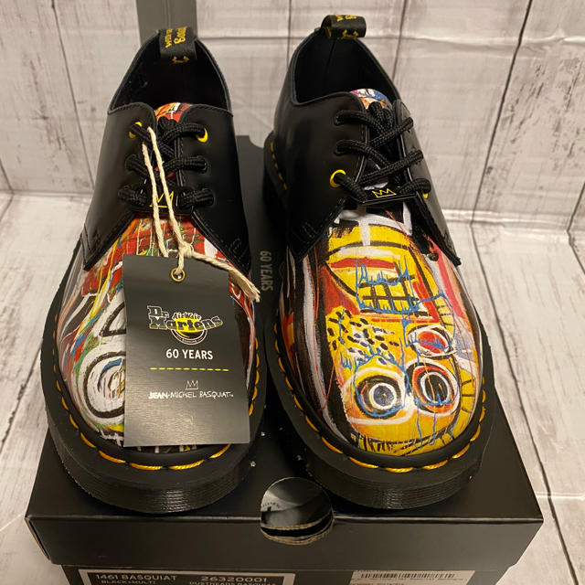 Dr.Martens(ドクターマーチン)の新品 Dr.martens jean michel basquiat 25cm メンズの靴/シューズ(ブーツ)の商品写真