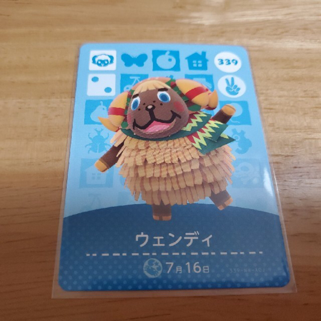 Nintendo Switch(ニンテンドースイッチ)のどうぶつの森 amiiboカード ウェンディ 第4弾 新品未使用 国内正規品 エンタメ/ホビーのトレーディングカード(その他)の商品写真