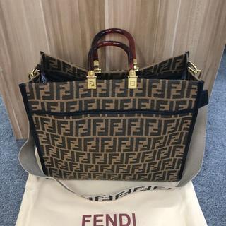 FENDI - FENDI キャンパスバッグ トートバッグ