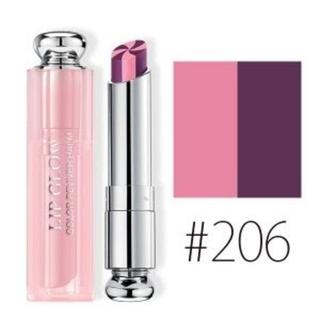Dior - ★限定色★♥DIOR♥#206/アディクト💄リップグロー【新品】ベリー