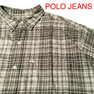 ラルフローレン(Ralph Lauren)のPOLO JEANS CO. RALPHLAUREN チェックシャツ L(シャツ)