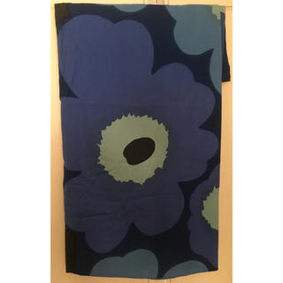 マリメッコ(marimekko)のマリメッコ 布団カバー DLダブルロング190×210㎝ 未使用品ブルー(シーツ/カバー)
