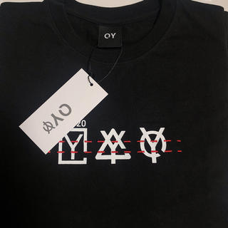 OY ステッチトリプルロゴTシャツ