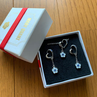 MARY QUANT - MARY QUANT  ネックレス&ピアス