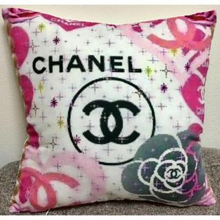 シャネル(CHANEL)の1枚のみ 新品 新作 お花とココマークのクッションカバー(クッションカバー)