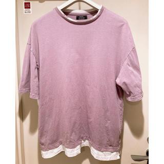 ZARA - ベルシュカ オーバーサイズ Tシャツ パープル Mサイズ