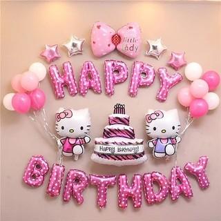 かわいいBIRTHDAYバルーンお誕生日風船飾り付けセット☆