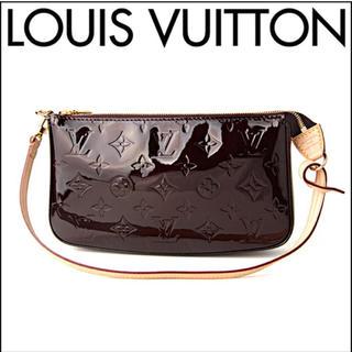 ルイヴィトン(LOUIS VUITTON)の美品 LV★M91576 ヴェルニ ショルダーバッグ(ショルダーバッグ)