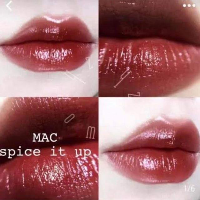 MAC(マック)のスパイスイットアップ  大人気カラー MAC リップ 口紅 コスメ/美容のベースメイク/化粧品(口紅)の商品写真