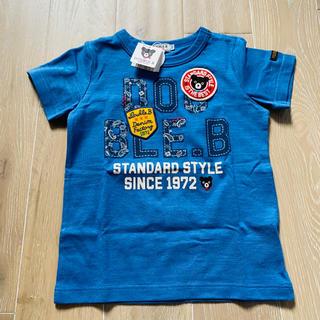 DOUBLE.B - 【今期新作カラー】ミキハウス ダブルビー ロゴ ペイズリー Tシャツ 110