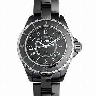 J12 黒セラミック 新品 レディース 腕時計
