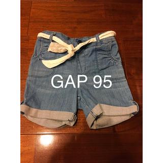 ベビーギャップ(babyGAP)のGAP 95 女の子 ショーパン ズボン 短パン デニム ショートパンツ(パンツ/スパッツ)