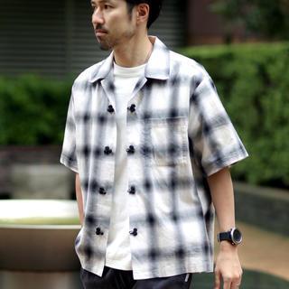 ジャーナルスタンダード(JOURNAL STANDARD)のチャイナシャツ チェックシャツ relume(シャツ)