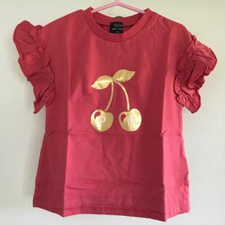 petit main - 新品 プティマイン オーガニックコットン tシャツ 100