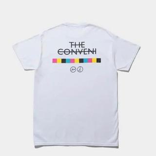 ピースマイナスワン(PEACEMINUSONE)のpeaceminusone × THE CONVENI Tシャツ XLサイズ 白(Tシャツ/カットソー(半袖/袖なし))