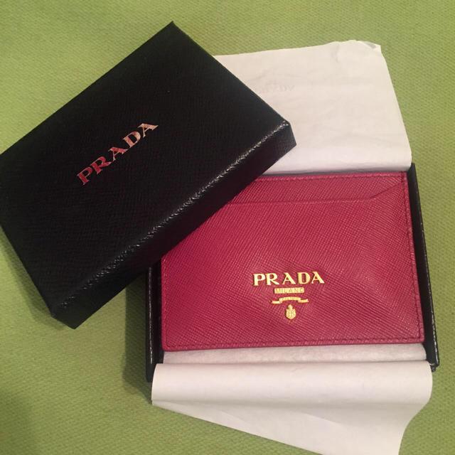 finest selection 4e0c3 6ab42 PRADA 定期入れカードケース | フリマアプリ ラクマ