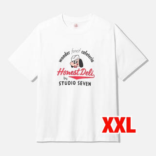 GU - GU × STUDIO SEVEN コットンビックtシャツ XXL ホワイト
