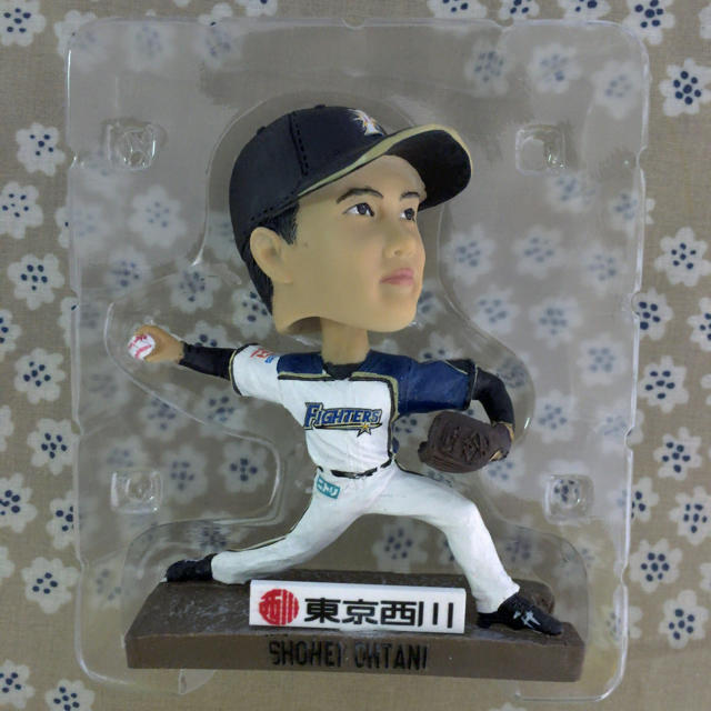 大谷翔平 ボブルヘッド  日本ハム スポーツ/アウトドアの野球(記念品/関連グッズ)の商品写真