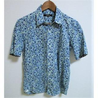 コムサメン(COMME CA MEN)のコムサメン 小花柄 半袖シャツ 日本製(シャツ)